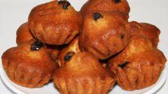 Как испечь вкусные кексы с изюмом
