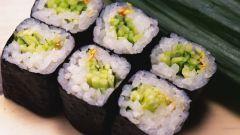 Как приготовить японские роллы