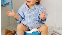 Учим малыша пользоваться горшком
