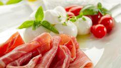 Рецепты салатов с пармской ветчиной