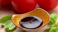 Для каких блюд используется бальзамический крем
