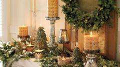 Декорирование дома к Новому году