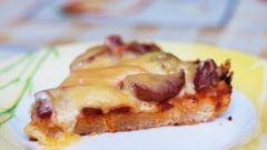 Готовим вкусную пиццу за 15 минут очень просто