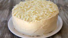 Как приготовить торт с белым шоколадом и кремом из сливочного сыра