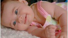 Младенец в домашнем салоне красоты