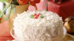 "Новогодний торт ""Рафаэло"""