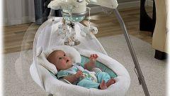 Как выбрать качели для новорожденных
