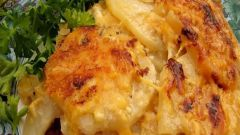 As simple and delicious to cook meat in French with potatoes