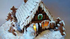Пряничный домик. Рецепт на Новый год