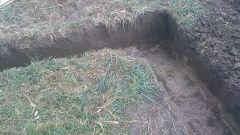 Как выкопать траншею под фундамент