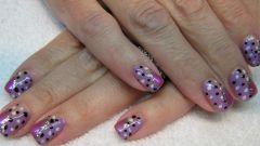 Как сделать простой точечный дизайн ногтей