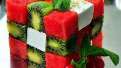 Как приготовить съедобный кубик Рубика