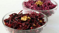 Салат из свеклы: рецепт