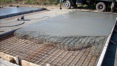 Как делать бетонную смесь для фундамента