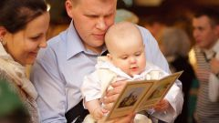Обязанности крестных во время таинства крещения