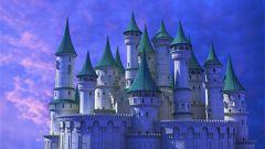 Как нарисовать замок карандашом поэтапно начинающим