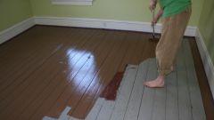 Половая краска для деревянного пола