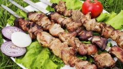 Tea brew is the best marinade for skewers