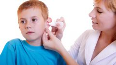Insect in the ear: first aid