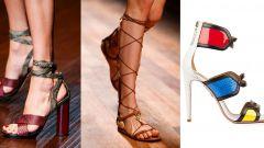Весна-лето 2015: какая обувь будет в моде