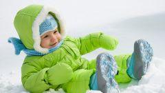 Зимняя прогулка с малышом