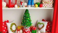 Новогодняя елочка в миниатюре