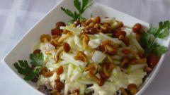 Салат с маринованными опятами - 3 лучших рецепта
