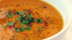 Суп из чечевицы с копченостями: рецепт