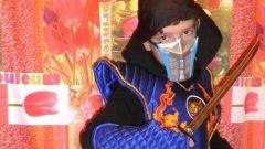 Костюм ниндзя СабЗиро для мальчика 8-9 лет своими руками