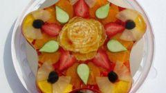 Желейный торт с фруктами: рецепт
