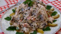 Салат с копченой курицей - 3 лучших рецепта