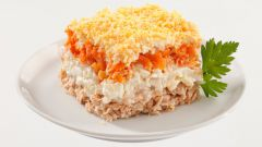 """Салат """"Мимоза"""" - рецепт приготовления"""