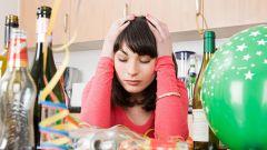 Как избавиться от похмелья в новогодние праздники
