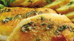 Как запечь морского окуня в духовке