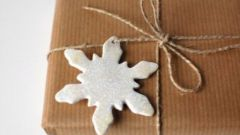 Как сделать снежинку из полимерной глины своими руками