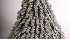 Как сделать новогоднюю елку из макарон