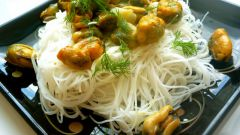 Рецепт быстрого приготовления рисовой лапши или вермишели