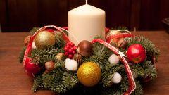 Как сделать красивый рождественский венок своими руками