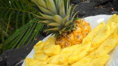 Как выбрать ананас и красиво его подать к столу