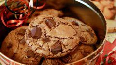 Как приготовить рассыпчатое шоколадное печенье