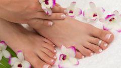 Кефирный пилинг для ног