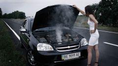 Что делать, если автомобиль начал перегреваться?