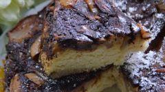 Грушево-шоколадный пирог в мультиварке