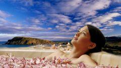 Успокаивающие ванны для тела
