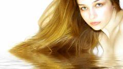How to moisturize the hair before sleep