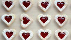 Как приготовить печенье в виде сердечек