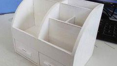 Органайзер из картонной коробки
