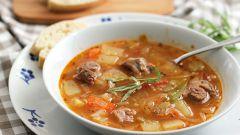 Как приготовить суп из баранины с овощами