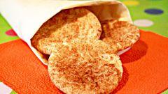 Как приготовить рассыпчатое печенье с корицей