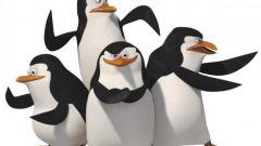Как нарисовать пингвинов из Мадагаскара поэтапно